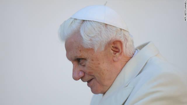 El papa Benedicto XVI confirma su visita a México y Cuba