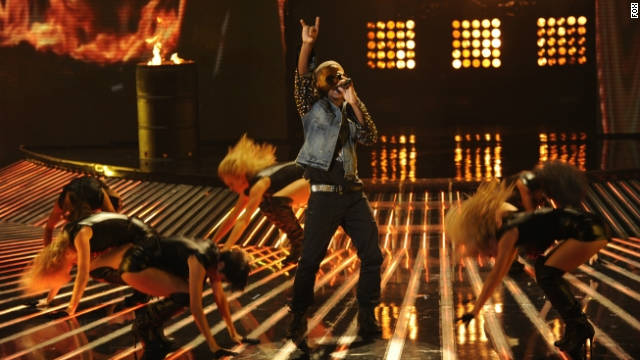 'X Factor's' Top 10 rock it out