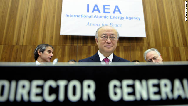 U.N. nuclear watchdog: Deep concern over Iranian nuclear program