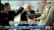 Mother of alleged victim of Sandusky speaks