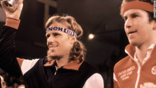 Swedish great Bjorn Borg won two Masters Grand Prix crowns, while arch-rival John McEnroe (right) was a three-time winner.