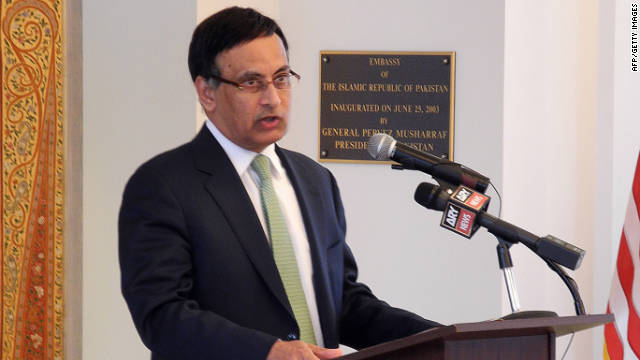 Pakistan's ambassador to the United States, Husain Haqqani, resigned Tuesday.