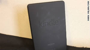 The Kindle Fire has a rubbery backside that\'s not slippery.