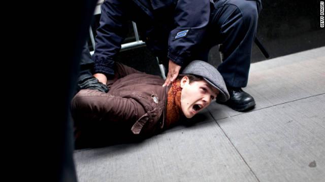 """El """"Día de Acción"""" del movimiento """"Ocupa"""" terminó con 245 arrestados"""