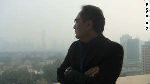 CNN\'s Beijing Bureau Chief Jaime FlorCruz looks out on Beijing\'s pollution on November 16.