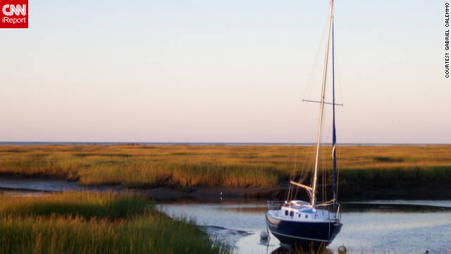 Gabriel Calemmo took this photo of the marsh in Cape Cod. &quot;Cape Cod is the hidden gem of vacation spots in the Northeast.&quot;