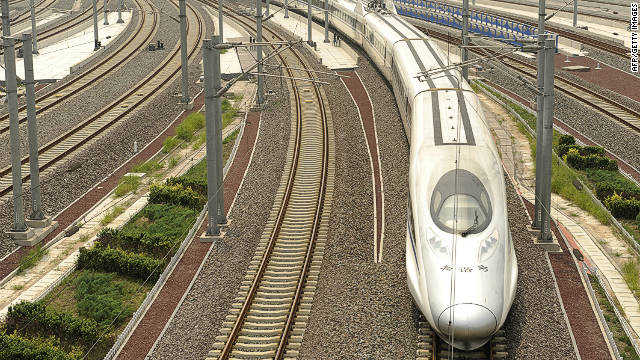 China has built more than 8,000 kilometers of high-speed rail lines in recent years