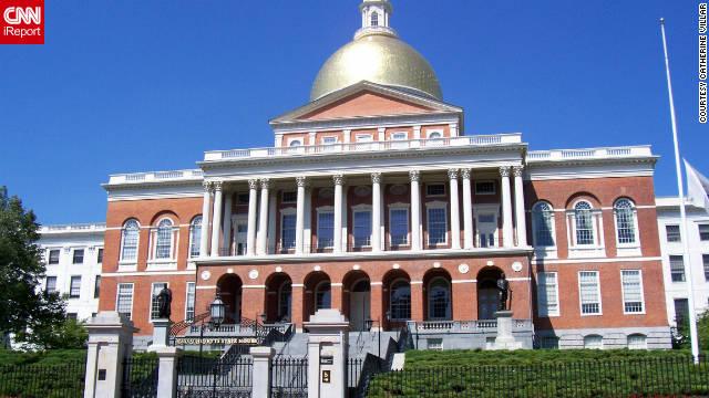 Catherine Villar shared this photo of the historic Massachusetts State House in Boston.
