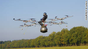 'Multicopter' makes maiden voyage