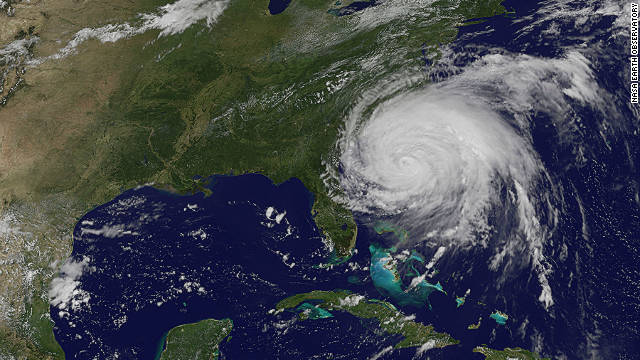 Hurricane Irene gathers <a href='http://news.blogs.cnn.com/2011/08/31/irene-sure-to-join-billion-dollar-disaster-club/'>speed and strength</a> as it heads towards the East Coast of the U.S. at the end of August. Tropical Storm Lee followed shortly after in early September. Both were responsible for severe flooding in the northeast region of the U.S. says the WMO.