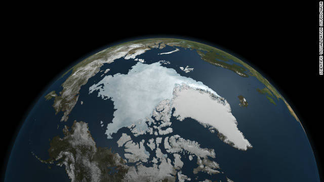 The last five years have included the<a href='http://news.blogs.cnn.com/2011/09/12/arctic-ice-levels-hit-historic-low-researchers-say/'> five lowest extents of sea ice </a>in the Arctic since records began in 1979, according to NASA, with much of that trend being caused by global warming.