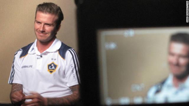 David Beckham on comments by FIFA President Sepp Blatter:
