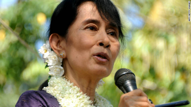 Ganadora del Nobel de Paz Suu Kyi obtendra un escao en el parlamento de Birmania