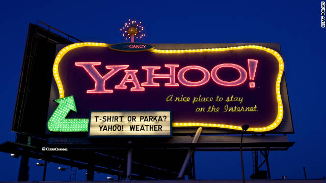 This retro-styled Yahoo billboard, a fixture of San Francisco's cityscape since 1999, is coming down soon.