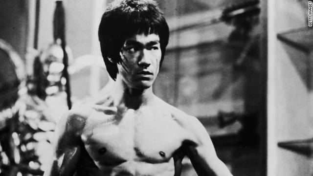 "Actor and martial arts expert Bruce Lee, who was working on dubbing the film ""Enter the Dragon"" when he died in 1973 of a brain edema, caused by a prescription painkiller."
