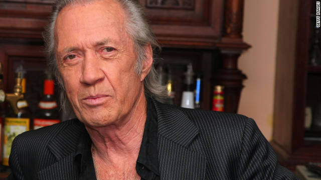 The body of &quot;Kill Bill&quot; actor David Carradine was found hanged in a Bangkok hotel room closet on June 4, 2009. He died at the age of 72. At first, officials ruled his death a suicide. They later said he died from accidental asphyxiation.