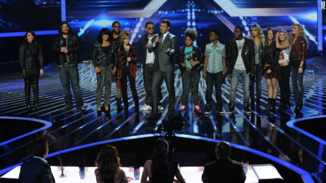 Drama, tears and attitude on 'The X Factor'