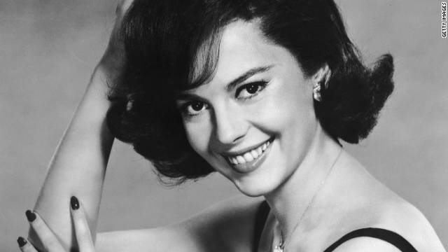 Movie star Natalie Wood