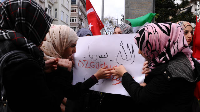 Syrians in Turkey write 