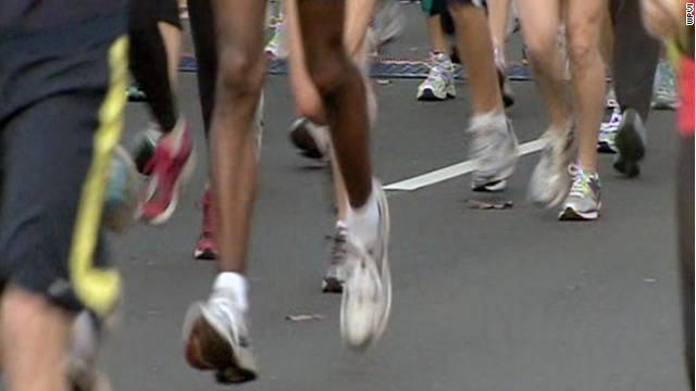 Authorities say two male runners collapsed and died Sunday during the Philadelphia Marathon.
