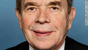Rep. Dale Kildee is a Michigan Democrat who has held his Flint-area district since 1976.