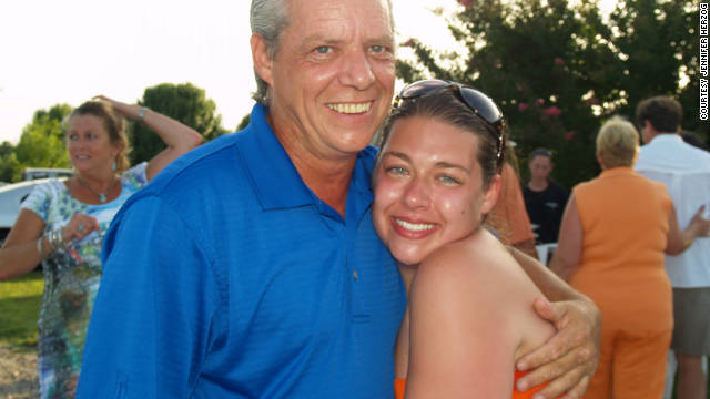 Jennifer Herzog, shown with her uncle Brian Herzog, has developed allergies to chemicals on plastics and perfumes.