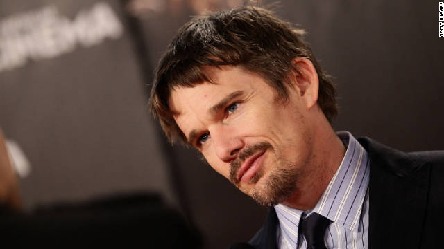 Ethan Hawke working on third 'Before Sunrise' film