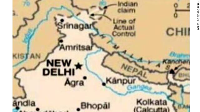 Un error en un mapa le causa un problema diplomático a EE.UU.