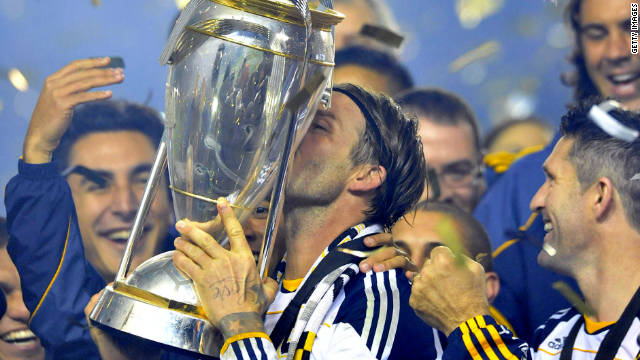 Former England captain David Beckham could be set to leave the Los Angeles Galaxy and return to Europe.