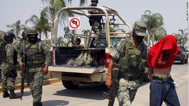 Ocho personas, entre ellos tres policías, son secuestrados en Sinaloa, México