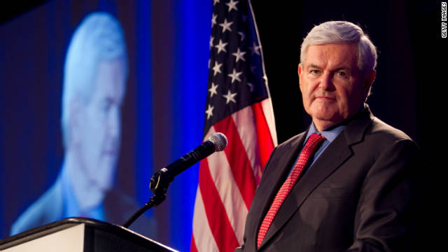 Gingrich spokesman defends controversial Palestinian remark