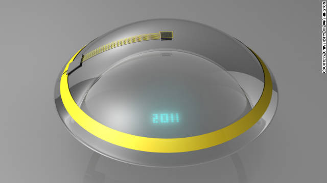 In the future, you might read e-mail on digitally enhanced contact lenses