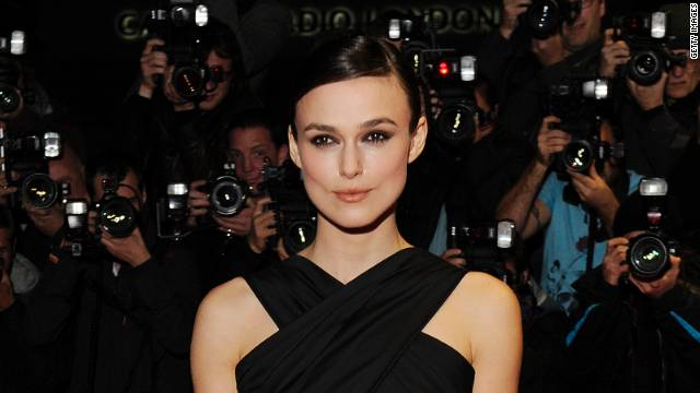 Keira Knightley attended the U.K. premiere of