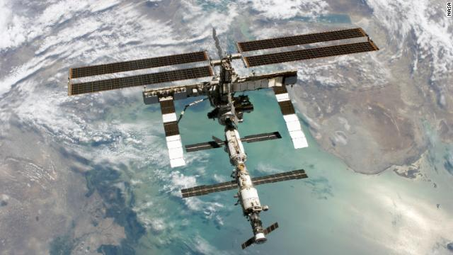 ISS astronauts take shelter from space junk