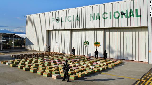 El combate al narcotráfico en Colombia desplaza a miles de campesinos