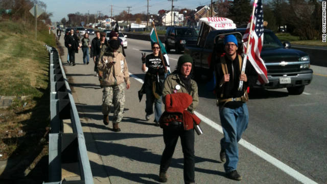 On the road with 'Occupy the Highway'