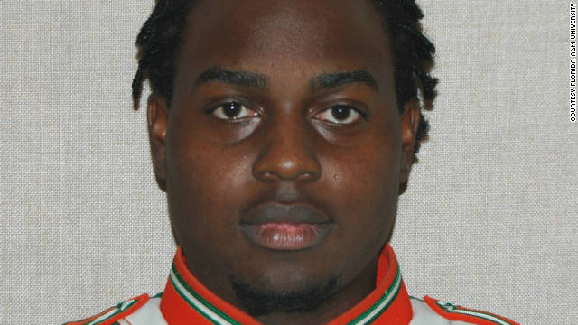 Florida A&M University student Robert Champion, 26, who, an autopsy found,