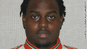 Florida A&amp;M University drum major Robert Champion, 26, became ill and died Saturday night.