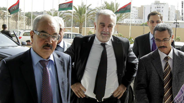 ICC prosecutor Luis Moreno-Ocampo has arrived in Libya following the capture of Saif al-Islam Gadhafi and Abdullah al-Senussi.