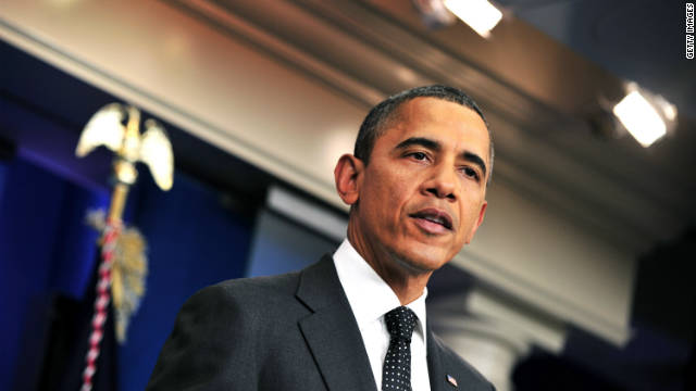 President Obama promised Monday to veto any attempt to undo the $1.2 trillion in automatic cuts slated under current law.