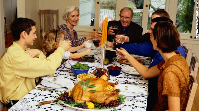 You can talk politics at the Thanksgiving dinner table, just be respectful of others.