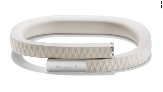 Jawbone Up tracks weight and fitness through its wristband and smartphone app, helping to integrate health management into your daily routine