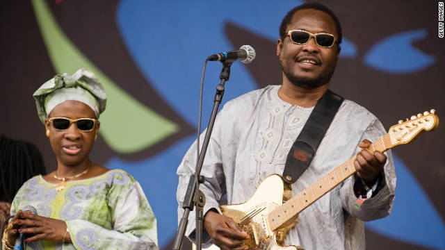 Amadou et Mariam have come a long way since meeting at Mali's Institute for the Young Blind in the 1970s. The musical duo have received international plaudits for their eclectic sounds and have supported both U2 and Coldplay on their world tours.