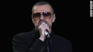 George Michael, shown in Milan, Italy, on November 11, is recovering at an Austrian hospital, his publicist said Friday.