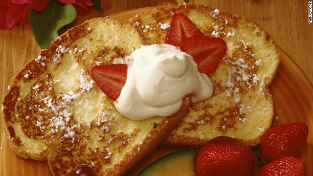 Breakfast buffet: National French toast day