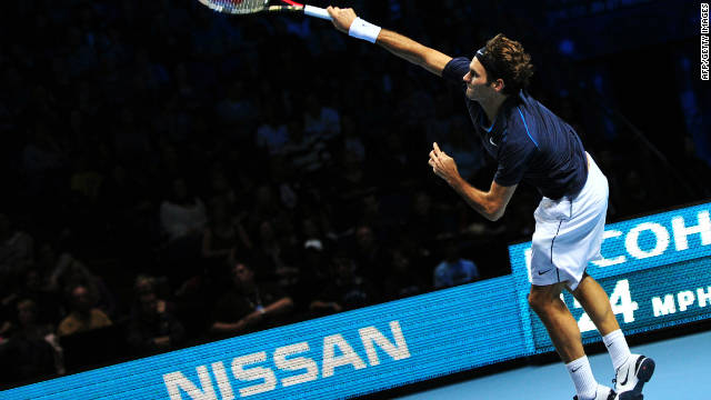 Swiss superstar Roger Federer is seeking a record sixth title at the season-ending men's championships.