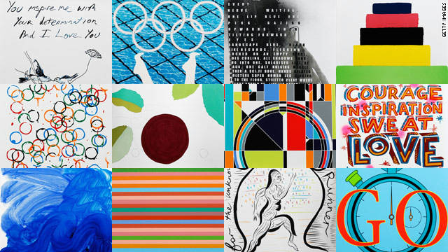 The 12 posters which will promote the 2012 London Olympic and Paralympic Games were unveiled this month.