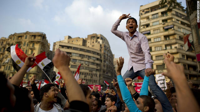 Week of protests in Tahrir Square