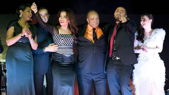La canción árabe de caridad de Quincy Jones se vuelve viral