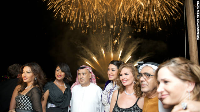 Plenty of VIPs turned out for the bash including Bokra contributors Latifa from Tunisia, Saudi singer Waed, Asma Lmnawar from Morocco, as well as Egyptian actress Yousra.